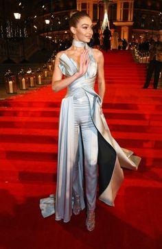 Gigi Hadid Wears Cinderella-Inspired Club Attire - Gigi Hadid Street Style