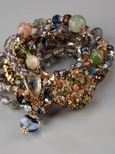 LOULOU KI  Beaded bracelet