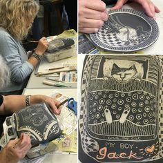 PATRICIA GRIFFIN CERAMICS - In the studio with Patricia Griffin