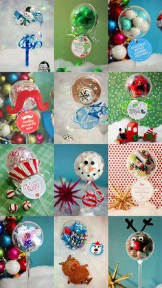 12 Party Favors for Christmas | www.partylolli.com