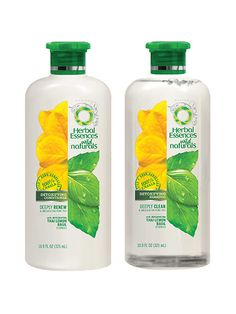 Herbal Essences Wild Naturals Detoxifying Shampoo and Conditioner