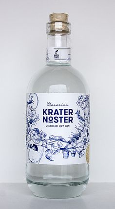 Krater Noster Bavarian Distilled Dry Gin - Gin Nerds (Bottle Projects)