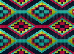 Este gráfico me quedo precioso!! Tapestry Crochet Patterns, Bead Embroidery Patterns, Bead Loom Patterns, Lace Patterns, Beading Patterns, Cross Stitch Embroidery, Cross Stitch Patterns, Crochet Handbags, Crochet Purses
