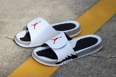 42e471e05214e7 Latest Air Jordan Hydro 5 Retro White University Red-Black 555501-112 Air  Jordan