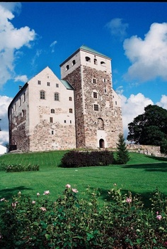 Turku Castle in Finland. Founded in 1280.