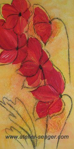 Begeisterung Natur, 40 x 80 cm. Bitte hier klicken: www.art-senger.com #malerei #kunst #art #begeisterung