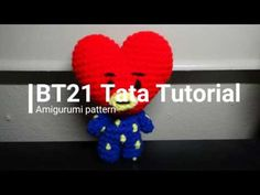 Tata TUTORIAL // Amigurumi pattern // Crochet with me A Tata crochet tutorial in real time. Crochet along with me! ٩(^ᴗ^)۶ If I go too fast or slow, you can change the speed of the video and play your own Kawaii Crochet, Cute Crochet, Crochet Crafts, Crochet Toys, Crochet Projects, Crotchet Patterns, Crochet Amigurumi Free Patterns, Knitting Patterns, Tutorial Amigurumi