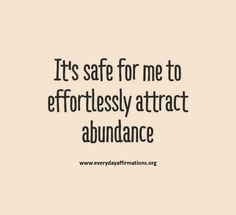 Its safe…. Inspiring quotes about money from Denise Duffield-Thomas, author of Get Rich, Lucky Bitch Prosperity Affirmations, Money Affirmations, Positive Affirmations, Daily Quotes, Great Quotes, Life Quotes, Inspirational Quotes, Positive Thoughts, Positive Vibes