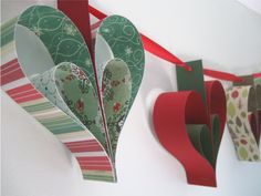 Christmas Garland really simple but effective will be giving this a try