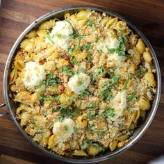 Pasta with Cauliflower, ricotta and spiced oil
