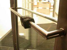 Türgriff - Stahl und Granit