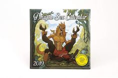 Dragon Sex 2019 Wall Calendar: This great yet ridiculous wall calendar showcases the artwork of 12 different artists, with each month depicting a differ. Memorable Gifts, Gifts For Him, Amazing, Awesome, How To Memorize Things, Calendar, Dragon, Cool Stuff, Artwork