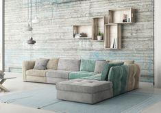 Γωνιακός καναπές Cenzo | Sectional sofa Cenzo #homedecor #homedecorideas #furniture #interiordesign #livingroom #livingroomdecor #sectionalsofa #sofa #colours Sofa, Couch, Thessaloniki, Interior, Furniture, Home Decor, Homes, Houses, Settee