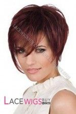 Most Natural Short Silky Straight Remy Human Hair Lace Front Wig Best Lace Front Wigs, Cheap Lace Front Wigs, Cheap Wigs, Remy Human Hair, Human Hair Wigs, Best Wigs, Wigs With Bangs, Auburn Hair, Short Wigs