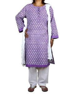Purple Kameez White Salwar Dupatta Indian Outfits for Women Size XXL ShalinIndia,http://www.amazon.com/dp/B00DXZIM5E/ref=cm_sw_r_pi_dp_gNm-rb12KFTFAAB3