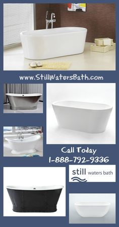 Call to order your Pedestal Tub Today 1-888-792-9336! In Stock and ready to SHIP FREE!  https://www.stillwatersbath.com
