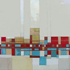 Community 8 acrylic on canvas 30x30x2 in