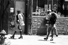 Prostitutes in the streets of New York.