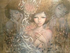 Such a beautiful artist- Audrey Kawasaki