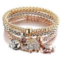 """Cross Charm Ovale Eye Crochet bracelet jonc livraison gratuite Boîte cadeau /""""Made in USA/"""""""