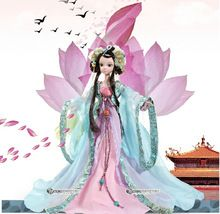 Genuine, kurhn children, 9050, Chinese costume, Princess Wencheng, dolls, girl, toy collections, wedding gift Tanabata(China (Mainland))
