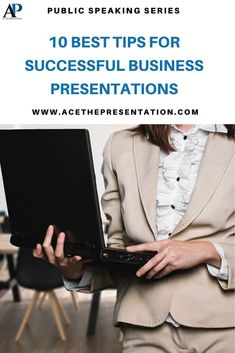 Would you like to make that presentation that leaves your co-workers, your boss, or partners wanting for more and engaged? Check out these 10 best tips for successful business presentations and improve your chances of nailing that next business presentation.  #businesspresentation #presentingatwork #professionalpresentations