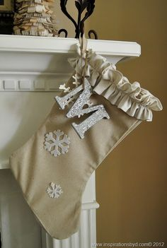 DIY stockings <3