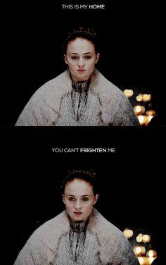 Oh, my poor sweet Sansa. They better be planning some damn good revenge for…
