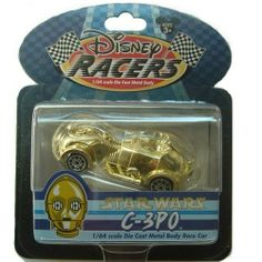 Disney Racers Star Wars C-3PO 1/64 scale by Disney. $9.95. rare,retired. Gold color. Star Wars exclusive. C-3PO. 1/64 scale. This racer was created exclusively for Disney and the Star tours ride