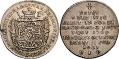 Archduke Maximilian Francis of Austria Grand Master of the Teutonic Order, Konventionstaler, Würzburg, commemorating his death. Archduke, Holy Roman Empire, The Grandmaster, Lorraine, Austria, Coins, Death, Personalized Items, House
