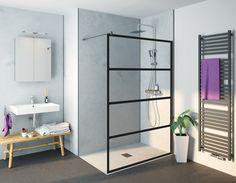 Geef je badkamer een industriële look met deze stoere douchewand!