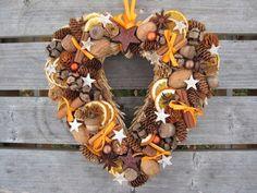 Vánoční srdce - oranžové..-rezervace