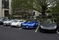 exotic cars in london