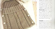 PORTABEBÉS CON OCHOS Baby Knitting Patterns, Crochet Patterns, Free Pattern, Fashion, Crochet Baby Cocoon, Crochet Cocoon, Baby Sleeping Bags, Baby Bunting Bag, Crochet For Baby