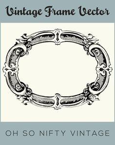 Stock Images | Fancy Vintage Frame - http://vintagegraphics.ohsonifty.com/stock-images-fancy-vintage-frame/