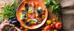 Perfecting the Caprese | The holy trinity of tomato, mozzarella and basil - TastingTable""
