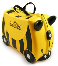 TRUNKI чемодан на колесиках Пчела