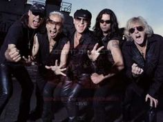 """The Scorpions-Rock you Like a Hurricane--I love this German rock band! I also love classical music! Here the Scorpions are playing """"Rock you Like a Hurricane with the Berlin Philharmonic--sooo cool! Rock N Roll, Rock And Roll Bands, Blues Rock, Musica Online, Rock Anthems, Musica Pop, We Will Rock You, Judas Priest, Heavy Metal Bands"""
