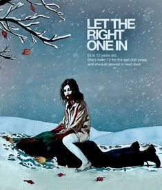 Let the Right One In Back Row, Dark Moon, 12 Year Old, Let It Be, Movie Posters, Movies, Films, Film Poster, Cinema