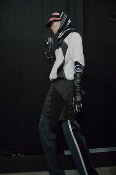 Kenzo AW15, Dazed backstage, Womenswear, Paris