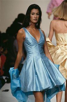 Yasmeen Ghauri - Guy Laroche - Runway - Ready To Wear Spring/Summer 1993