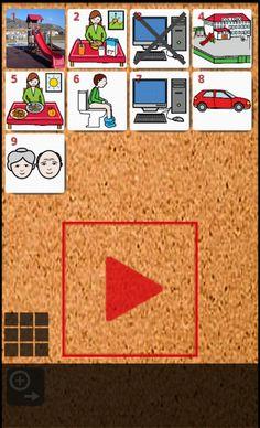 PictogramAgenda es una aplicación informática que facilita la generación y uso de agendas visuales en terminales (teléfonos móviles o tablets) basados en el sistema operativo Android.     PictogramAgenda permite configurar y ordenar una secuencia de imágenes (máximo 12) que formarán la agenda visual.    Opción de descarga directa de pictogramas desde la web de ARASAAC.