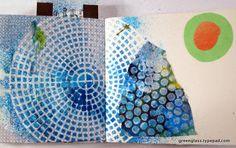 LizzieBo / Green Glass visual journal