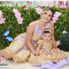 Lindas @jennifergurgel e sua princesa  Giulia  veste Cecilia Cavalcante!!!