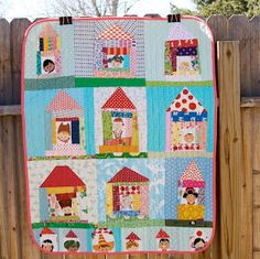a quilt is nice: my neighborhood baby quilt