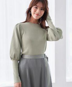 Waist Skirt, High Waisted Skirt, Turtle Neck, Fashion Outfits, Skirts, Sweaters, Idol, Japan, Skirt
