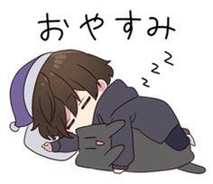 Chibi Boy, Cute Anime Chibi, Cute Anime Guys, Cute Cat Wallpaper, Kawaii Wallpaper, Anime Grim Reaper, Manga Anime, Anime Art, Kawaii Chan