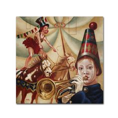 Preludio by Edgar Barrios Painting Print on Wrapped Canvas