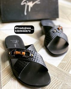 Leather Slippers, Mens Slippers, Men Sandals, Leather Sandals, Tie Shoes, Men Shirt, Ghana, Shirt Style, Men Casual