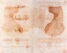 "The Biblioteca Nacional de España has created ""Leonardo Interactivo,"" digitizing Leonardo da Vinci's Madrid Codex I - II, making them available to all of us! The Madrid Codex were discovered in Spain's National Library in 1964, after spending ab"